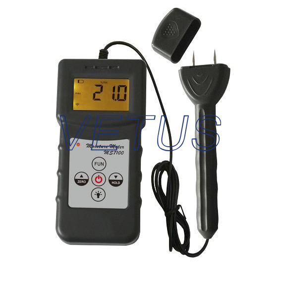 MS7100 Digital wood Moisture Meter  Timber moisture meter<br><br>Aliexpress