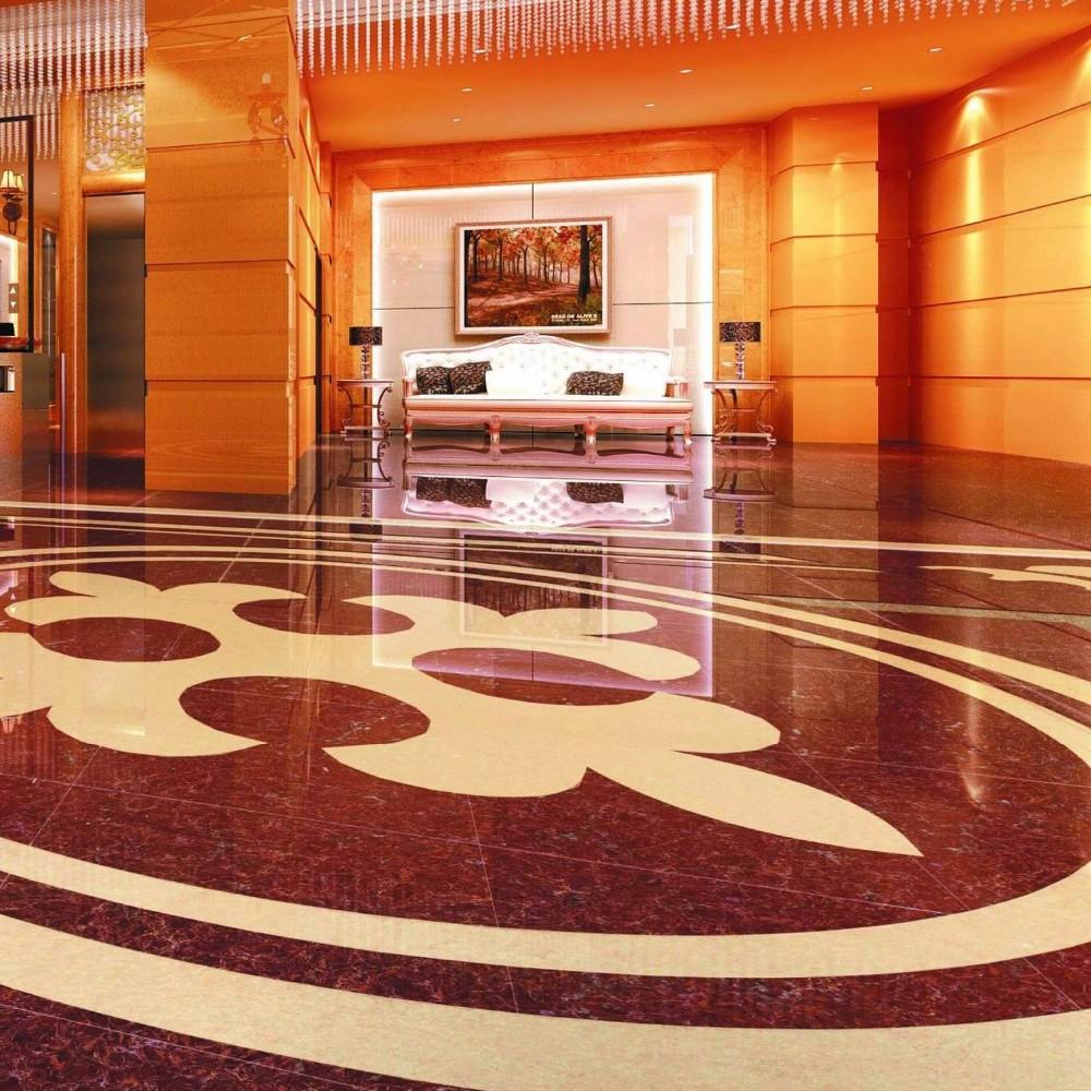 2015 Porcelain Polished Floor Tiles with nano 800X800MM LuBan PuLaTi 8K06C