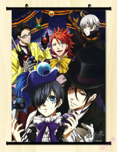 Home Decor Japanese Anime Wall poster Scroll Black butler Cosplay Art Whole