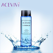 ACEVIVI New 120ml Liquid Makeup Remover Cleaner Wiper Cleanser Cleaning Oil Blue color 31(China (Mainland))