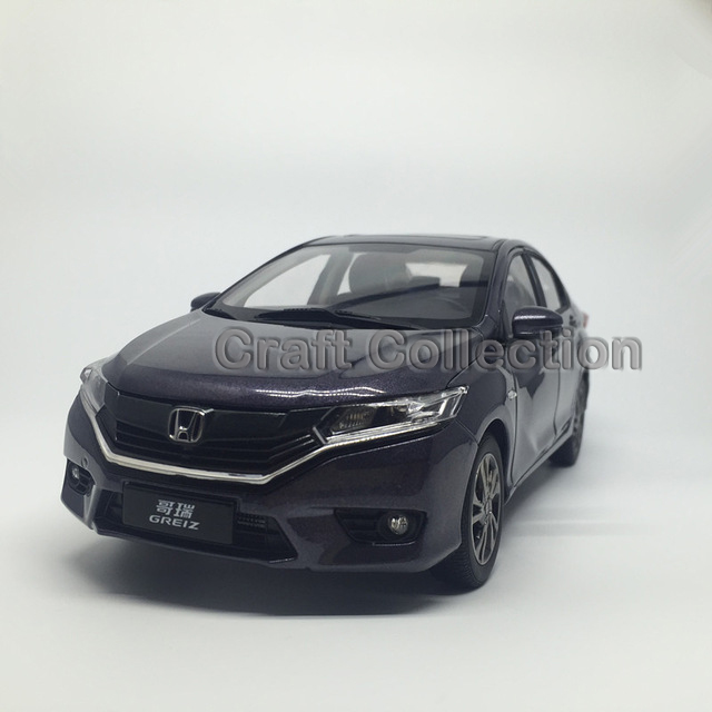 * Gray 1:18 Honda GREIZ 2015 Diecast Model Show Car Miniature Toys Alloy Gifts Minicar Collections(China (Mainland))