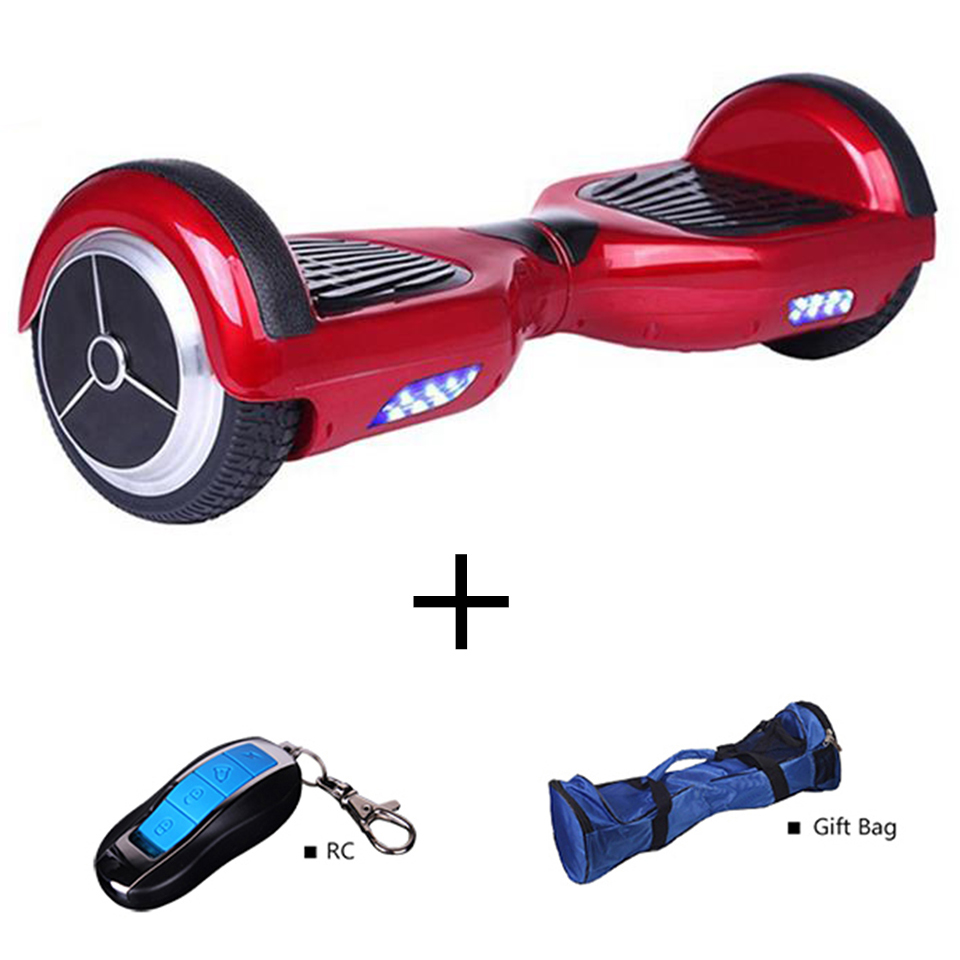 Balance Board With Roller: Two Wheel Smart Balance Electric Standing Scooter