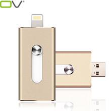 i-Flash Drive 8gb 32gb 64gb Mini Usb Metal Pen Drive /Otg Usb Flash Drive For iPhone 5/5s/5c/6/6 Plus/ipad i-Flashdrive Pendrive