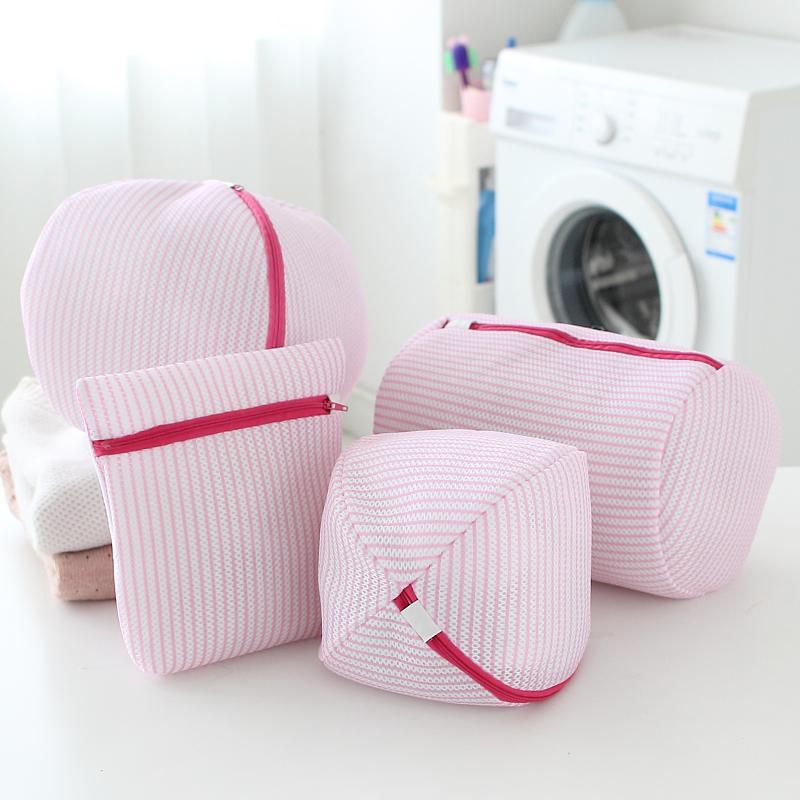 2015 New Fashion Convenient Bra Clothes Wash Laundry Bags Home Using Clothes Washing Bag Protect Wash Bag Coarse Mesh(China (Mainland))