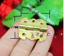 29*27MM wooden box decoration butterfly hinge link plate 90 degrees  of antique packaging(China (Mainland))