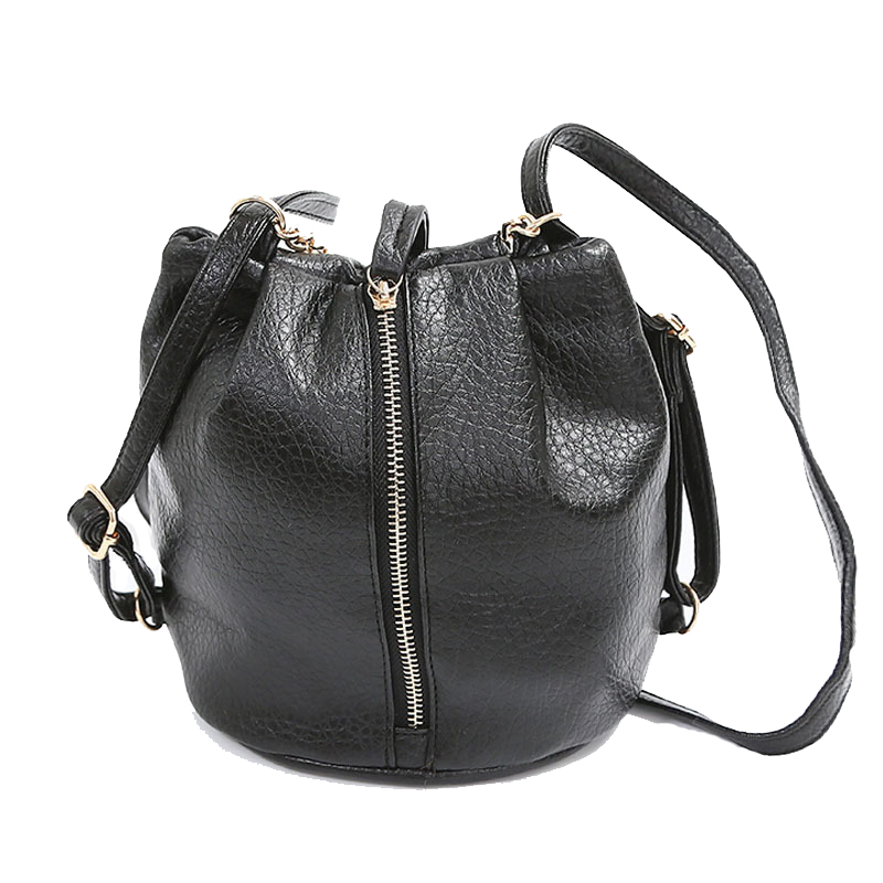 Гаджет  Fashion Bag Women 2015 Bucket Shoulder Bag Zipper Small Mini Messenger Bags Women Handbags Small Crossbody Purse Small Tote Bags None Камера и Сумки