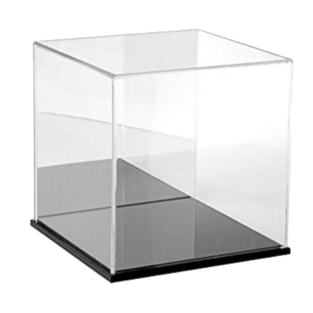 25cm Display Case/Box Perspex Dustproof Showcase for Mini Action Figure Toys
