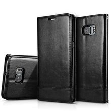 Magnetic Flip Case For Samsung Galaxy S7 S7 Edge PU Leather Lanyard Phone Bags Cases For Samsung S6 /S6 Edge/S6Edge Plus Cover (China (Mainland))