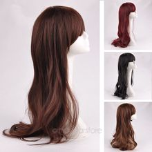 New Arriving Fashion Full Wig Medium natural volume, Women Pear Head Synthetic Wigs  zMJF0016D(China (Mainland))