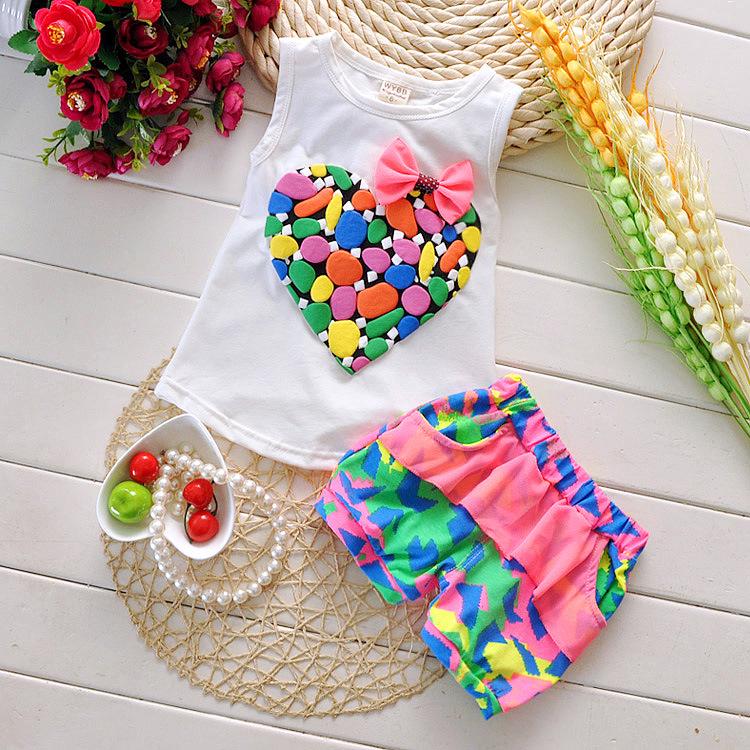 Комплект одежды для девочек Other 2015,  100% ,  T-shirt+pants