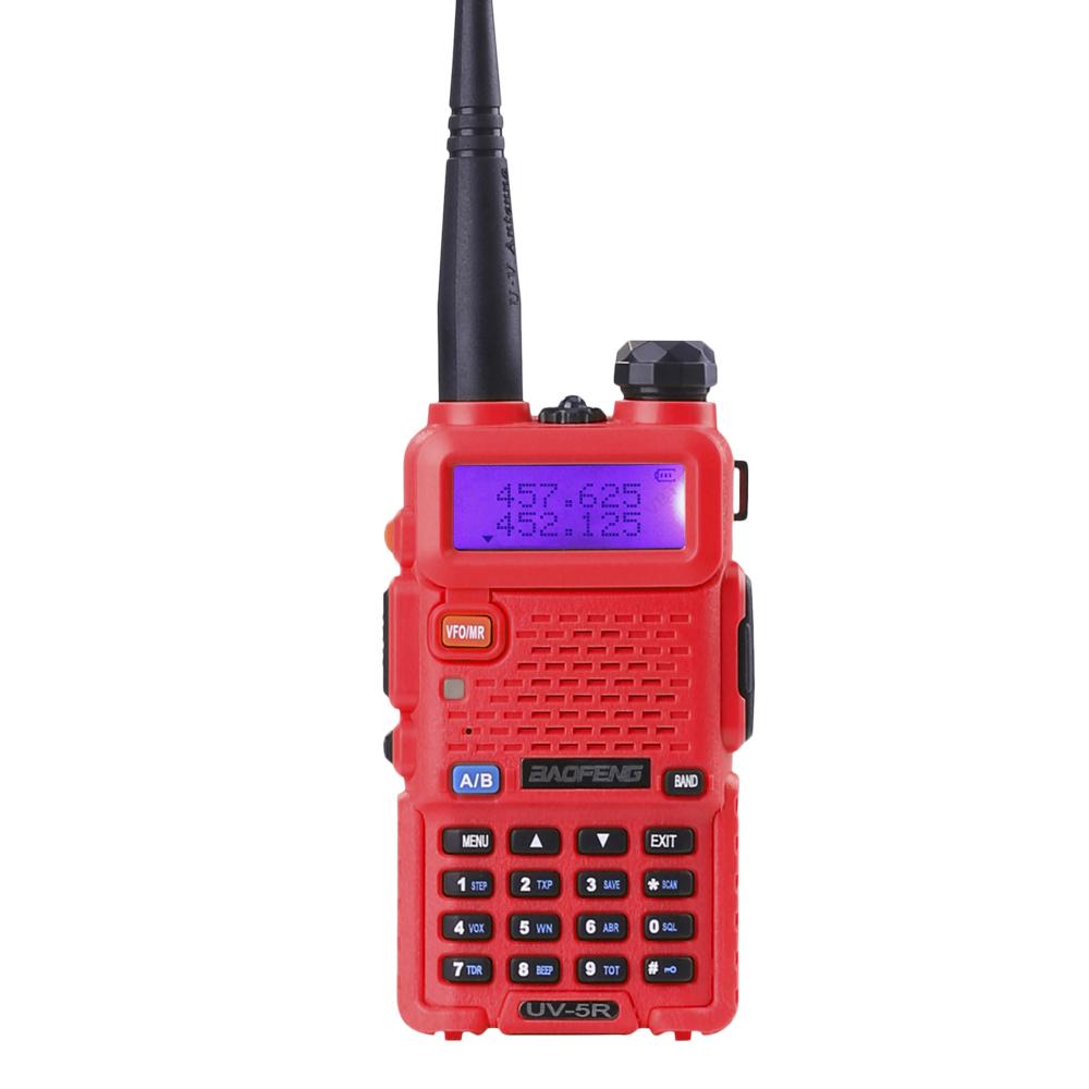 Portable BaoFeng UV-5R 5W Dual Band VHF/UHF136-174Mhz&400-520Mhz Wireless Radio Communicator Walkie-Talkie China Electronic Shop(China (Mainland))