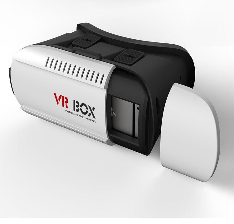 ถูก ใหม่googleกระดาษแข็งvr box 2.0รุ่นvrความจริงเสมือน3Dแว่นตาสำหรับ3.5-6.0 ''มาร์ทโฟนโรงละครAndroid Win IOSชุดหูฟัง