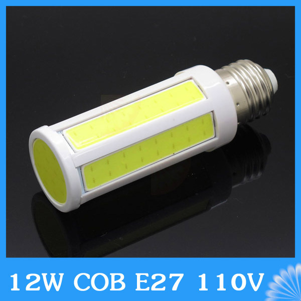 Lampada E27 12W LED COB Corn Light AC 110V 127V Lamp Warm White Cold white Energy Saving Bulb ...