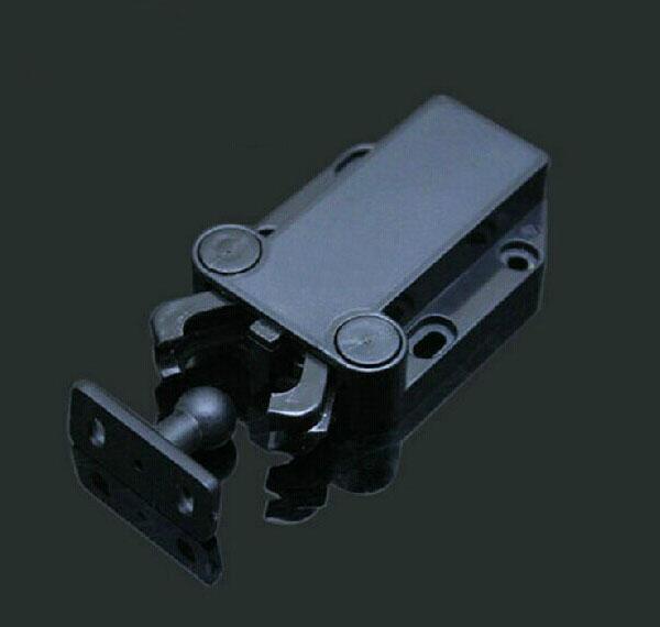 Door touch latch,cabinets door interlock switch,Mechanical door locker,chassis or cabinet rebound locker,push to open&close(China (Mainland))