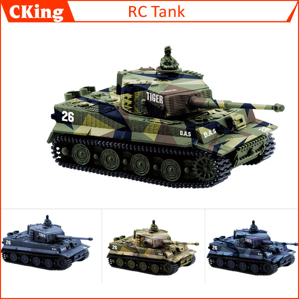 14CH 1:72 RC Tank Toy Great Wall 2117 Remote Control Tank Mini Tiger Battle Tank Toy Best Christmas Gift for Kids(China (Mainland))