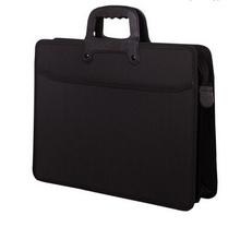 Portable laptop bag a4 file bag multifunctional storage bag school supplies(China (Mainland))