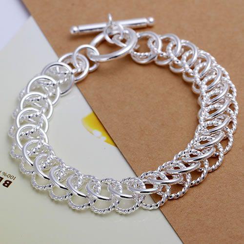 H022 925 sterling silver bracelet, 925 sterling silver fashion jewelry Centipede Bracelet /aufajlma agaaixha(China (Mainland))