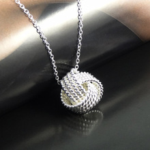 VALEN BELA Silver Plated Women Pendant collares Rose Ball Slide Fashion Gold Chain necklaces accessories jewerly XL1101(China (Mainland))