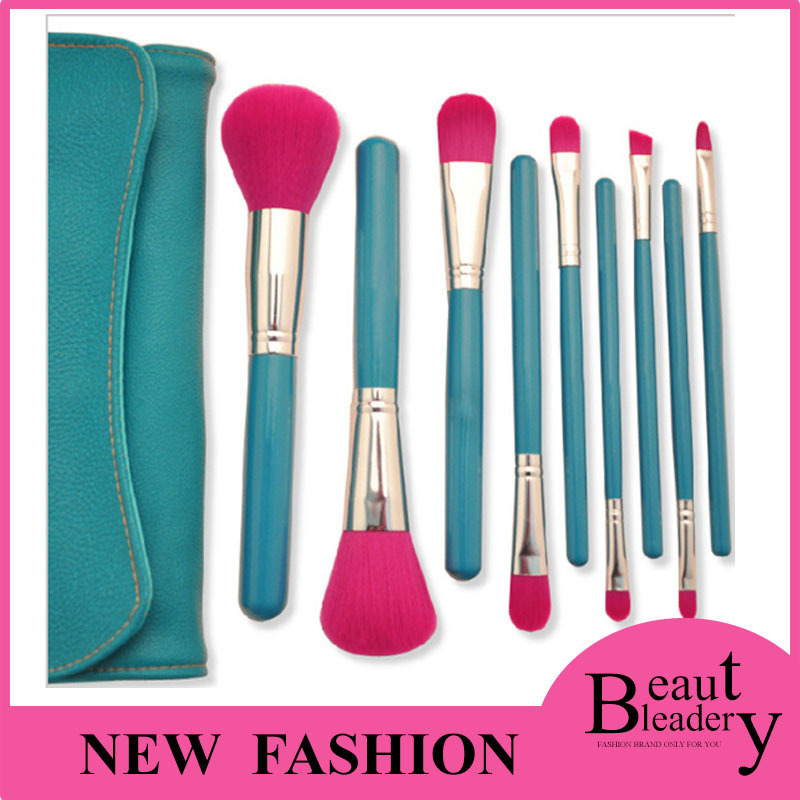 9pcs/set Professional Cosmetic Makeup Brushes Set beauty make up Tools Kits for Women Girl Lady<br><br>Aliexpress