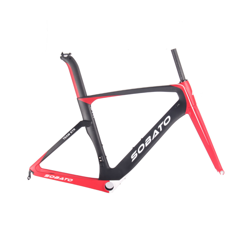 New Style UD Carbon Frame Road Cadre Carbone Road Bike Frameset Size 52/54/56/58CM(China (Mainland))