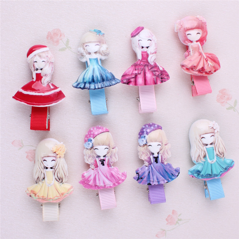 New Arrival Kids Baby Princess Hair Clip Pin Hairpin Accessories For Girls Hair Ornaments Hairclip Hairgrip Barrette Headdress(China (Mainland))