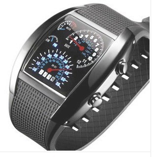 Air table , dashboard LED table space fashion watches, LED watches fashion men CHINA POST FREE shipping(China (Mainland))
