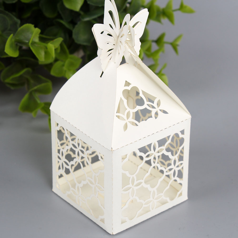Wedding Gift Ideas Delivery : free shipping 50pcs 5 * 5 * 5cm candy box wedding gift ideas hollow ...