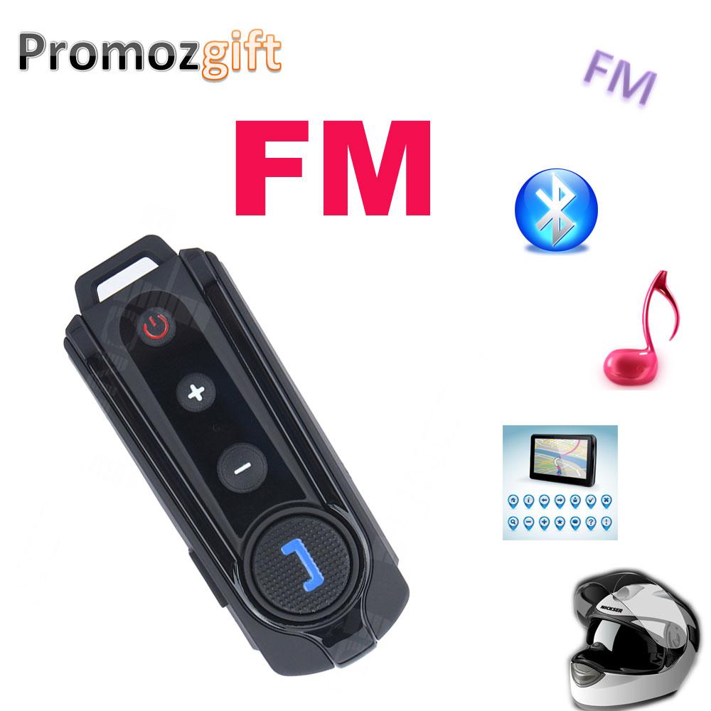 FM + BT 3.0 ! 1PC BT-S1 BT Intercom 800m Waterproof Moto Bluetooth Headset Motorcycle Intercom bluetooth helmet speakers(China (Mainland))