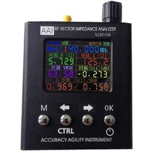 Buy New English verison N1201SA UV RF Vector Impedance ANT SWR Antenna Analyzer Meter Tester 140MHz 2.7GHz for $150.39 in AliExpress store