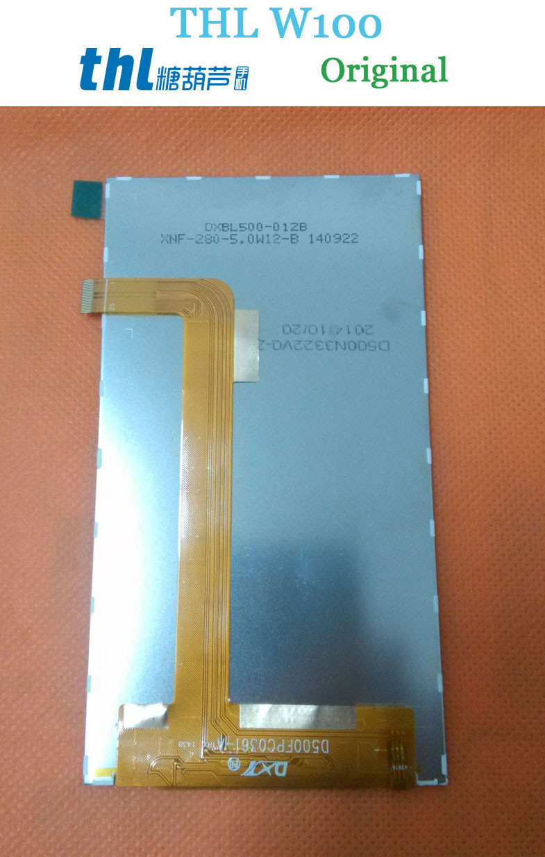 Original THL W100 W100S LCD Display Screen Assembly Replacement