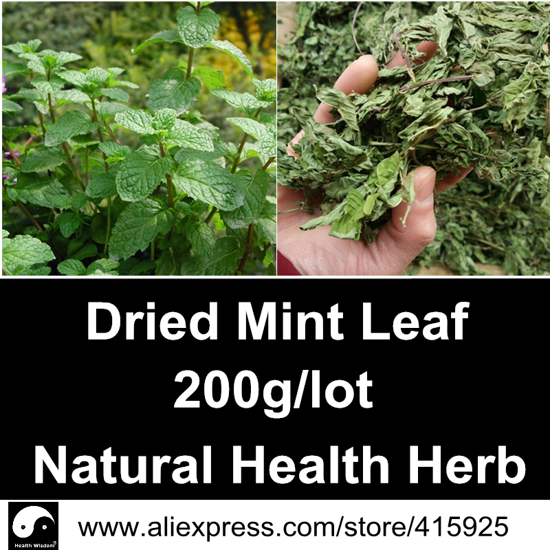 Dried Peppermint Leaf 200g Natural Health Care Herbal Mint Leaf Menthol Herb Tea Spearmint