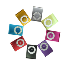 High Quality Mini metal Clip MP3 Player With TF Card Slot Without Accessories No Card No Cable Wholesale Free Shipping(China (Mainland))