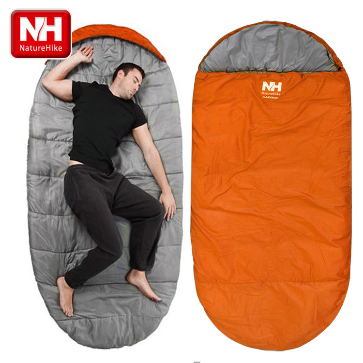 L size thin pattern 1 6kgs Naturehike NH cake queen sleeping bags large outdoor space crowded