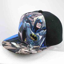 2016 New Fashion Brand Batman vs Superman baseball cap kids Casual Adjustable Bone Hip Hop Snapback Caps Hats(China (Mainland))