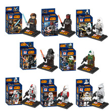 Marvel Star War Minifigure 8 Piece/lot ABS Plastic Building Block Sets Toys Children Compatible Lego - AINA Trading Co.,Ltd store