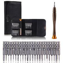 Schraubendreher set 25 in 1 Torx Kit herramientas ferramentas Schraubendreher Brieftasche Für iphone 4 s 5 s handwerkzeuge Neueste(China (Mainland))