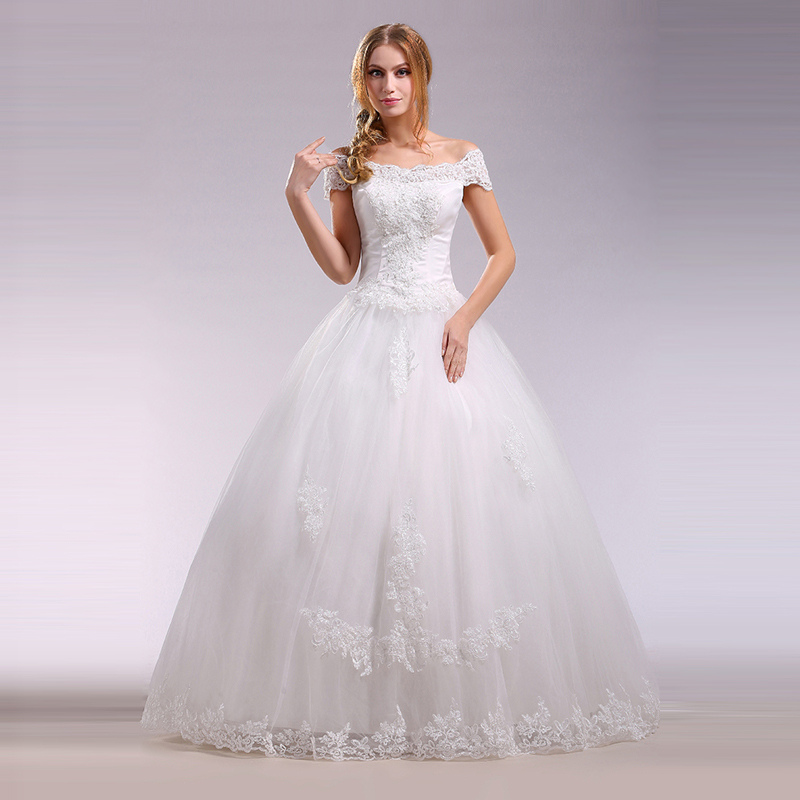 Luxury wedding dresses for young: Winter wedding dresses petite