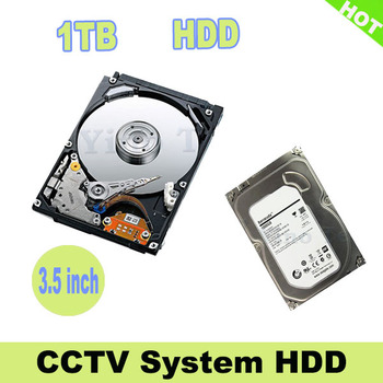 3.5 inch 1TB  Hard Disk CCTV SYSTEM HDD for  CCTV Surveillance systems