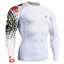 Skin Tight Shirts Brand Original Man's Compression Sports T-shirts Running Muscle Training Workout Fitness Keep Fit Male Fixgear