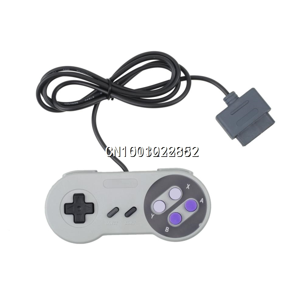 1 Super Nintendo SNES MF01400 50pcs new for snes controller extension cable for super nintendo for fami com consoles 6ft