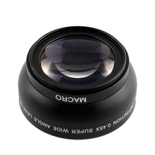 52mm Fisheye 0.45x Super Wide Angle Lens Professional MACRO For Nikon D3200 Free shipping