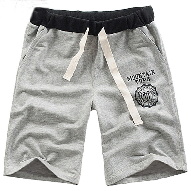 2013 summer male sports slim capris shorts casual knee-length pants male