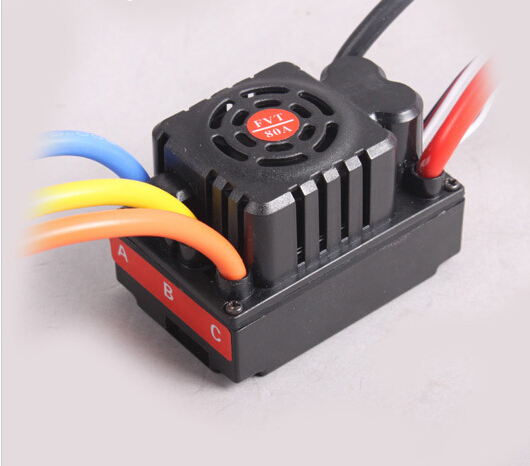 FVT 80A/120A Waterproof ESC/Brushless Speed Controller for RC 1/10 and 1/8 series Electric Car off-road vehicles with sensor(China (Mainland))