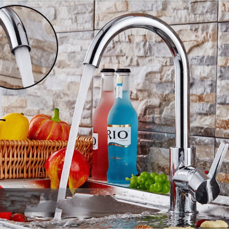 Free shipping,FEIDIKE Chrome single handle rotatable Bathroom basin faucet kitchen mixers cold and hot water taps with logo(China (Mainland))