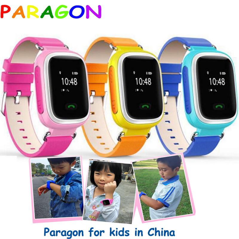 Kids GPS Tracker Watch SOS Emergency GSM Smart Mobile Phone fitness tracker smartband kids gps watch Russian Q50 Q80 moto360 q60(China (Mainland))
