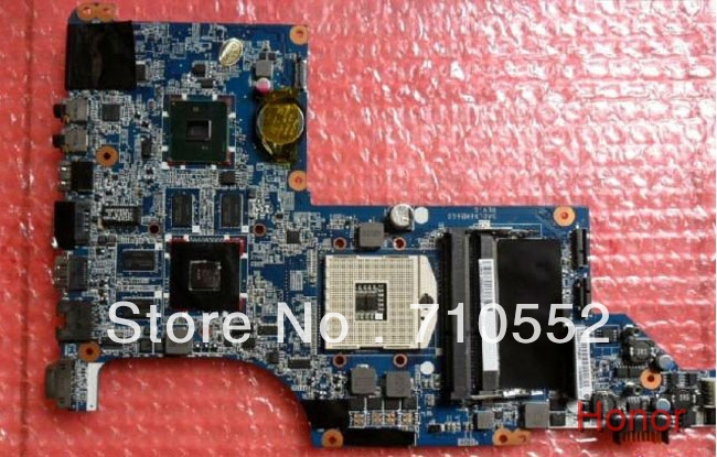 for HP DV7 605321-001 HM55 8vga Laptop Motherboard Blue board fully tested & working perfect