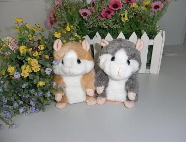 Talking Hamster Mice Pet Voice Recorder Talking Plush Toy Tomy Hamster Talking Toy 1pcs Screwdriver as Gift