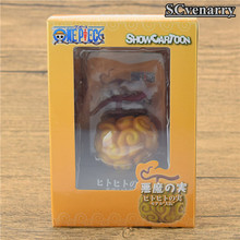 Anime one piece devil fruit flame-flame & gum-gum Ace Luffy Chopper Edward pvc action figure Collection model toys(China)