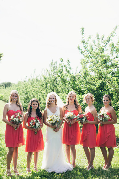Simple Chiffon Red Knee Length Cridd Cross Wedding Party Bridal Gown Bridesmaid Dress Under 50 Fy 131