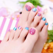 04# toe sticker fashion nail art manicure nail sticker  decal  pedicure